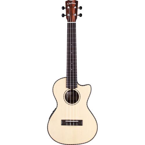 Cordoba 21T-CE 21 Series Tenor Cutaway Acoustic/Electric Ukulele (Natural Satin)