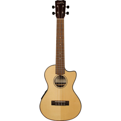 Cordoba 22T-CE 22 Series Tenor Acoustic/Electric Ukulele (Natural Satin)