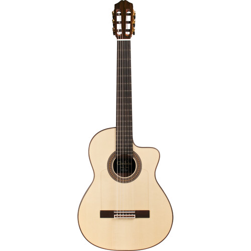 Cordoba 55FCE Negra España Series Hybrid Classical / Electric Guitar (Ziricote Back & Sides, High-Gloss)