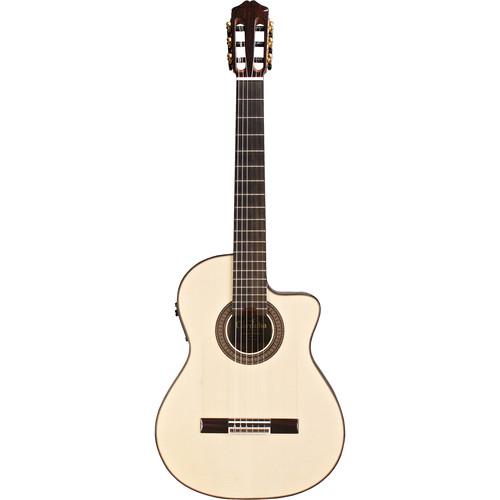 Cordoba 55FCE Negra Limited España Series Hybrid Classical/Electric Guitar (Macassar Ebony Back & Sides, High-Gloss)