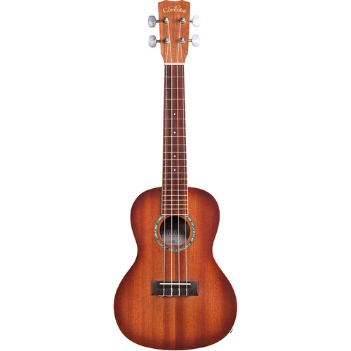 Cordoba 15CM-E 15 Series Concert Acoustic/Electric Ukulele (Edgeburst Satin)