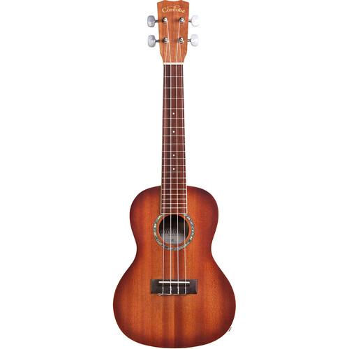 Cordoba 15CM-E 15 Series Concert Acoustic/Electric Ukulele (Edgeburst Matte Satin)