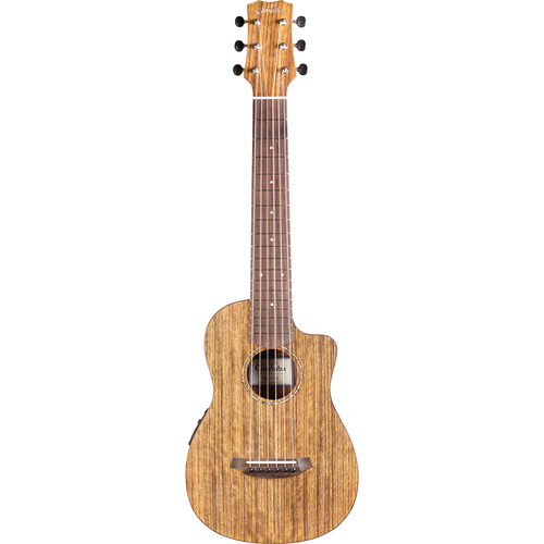 Cordoba Mini O-CE Travel Nylon-String Acoustic/Electric Classical Guitar with Gig Bag