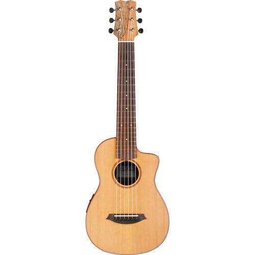 Cordoba Mini SM-CE Travel Nylon-String Classical Guitar with Gig Bag