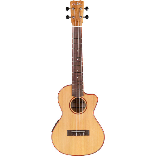 Cordoba 24T-CE 24 Series Tenor Acoustic/Electric Ukulele (Natural Satin)