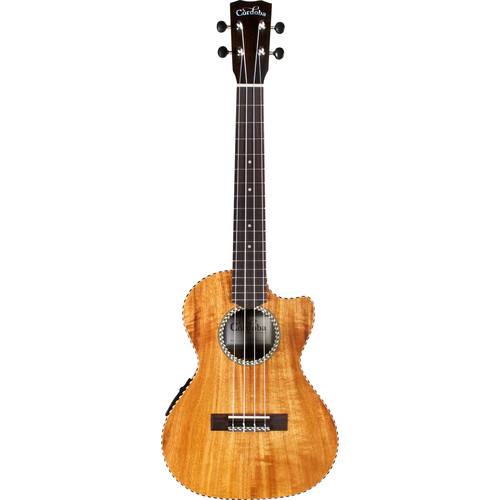 Cordoba 25T-CE 25 Series Tenor Acoustic/Electric Ukulele (Natural Satin)