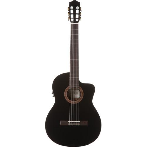 Cordoba C5-CET Iberia Series Nylon-String Thinbody Acoustic/Electric Guitar (Black)