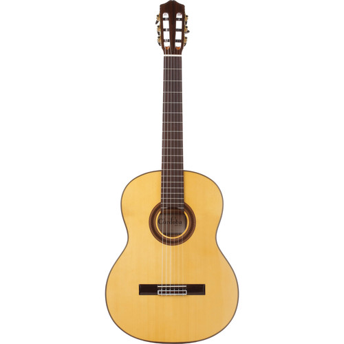 Cordoba F7 Iberia Series Nylon-String Flamenco Guitar (High Gloss, Honey-Tinted Back & Sides)