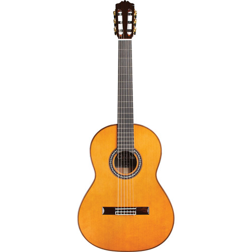 Cordoba C9 Parlor Luthier Series 7/8-Size Nylon-String Classical Guitar (Solid Cedar Top, High Gloss)