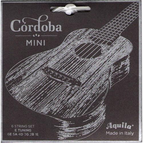 Cordoba Mini String Set for E Tuning (6-String, Supernylgut, Ball Ends, 31 - 48)