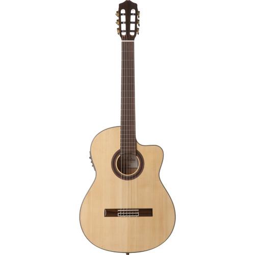 Cordoba GK Studio Negra Iberia Series Nylon-String Acoustic/Electric Guitar