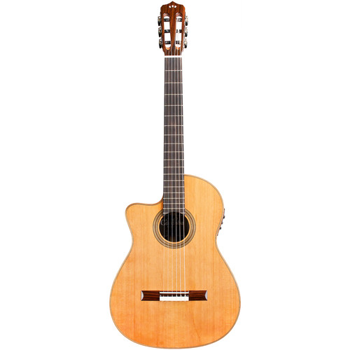 Cordoba Orchestra CE Fusion Series Nylon-String Classical/Electric Guitar (Left-Handed, High Gloss)