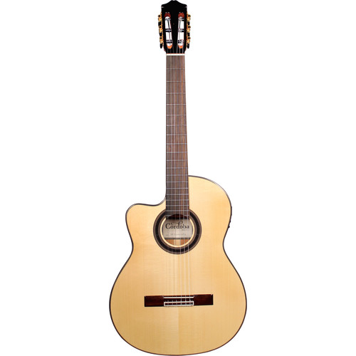 Cordoba GK Studio Iberia Series Nylon-String Acoustic/Electric Guitar (Left-Handed)