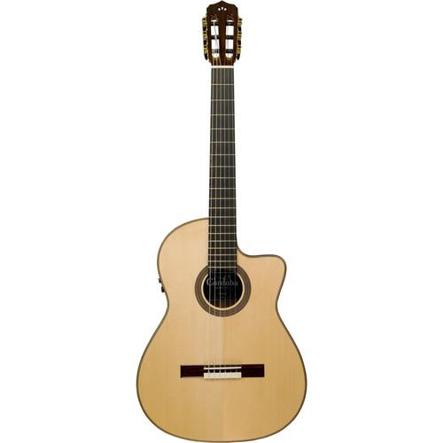 Cordoba Fusion Series 12 Maple Hybrid Nylon-String Acoustic/Electric Guitar (Natural Gloss)