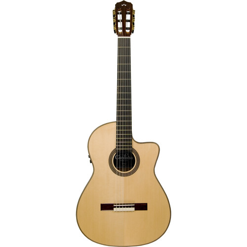 Cordoba Fusion Series 12 Maple Hybrid Nylon-String Acoustic/Electric Guitar (Natural Gloss)