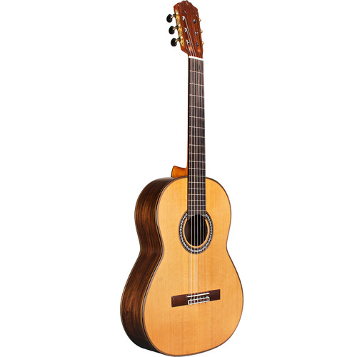 Cordoba C10 Parlor Luthier Series 7/8-Size Nylon-String Classical Guitar (Solid Cedar Top, High Gloss)