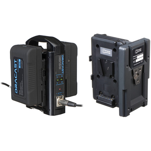 Core SWX Hotswap Plate Kit with 2 x 90Wh Batteries & Dual Charger (V-Mount)