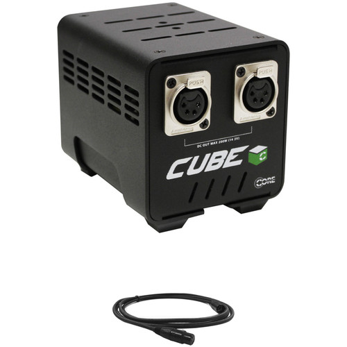 Core SWX Cube 200 Power Supply Kit with 4-Pin XLR Cable (6')