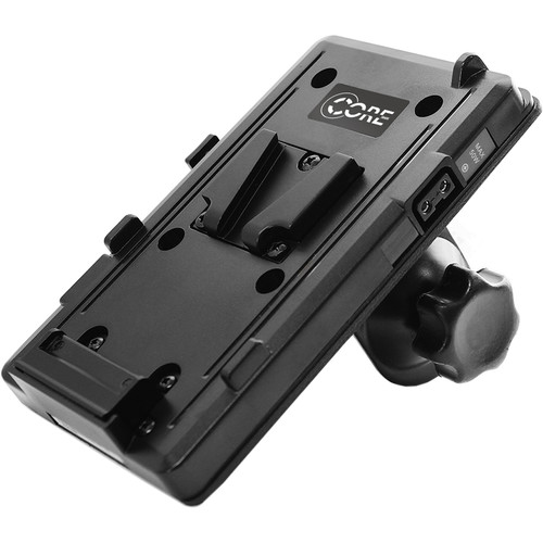 Core SWX GP-S V-Mount Plate with Clamp for Monopods, Tripods, Light Stands