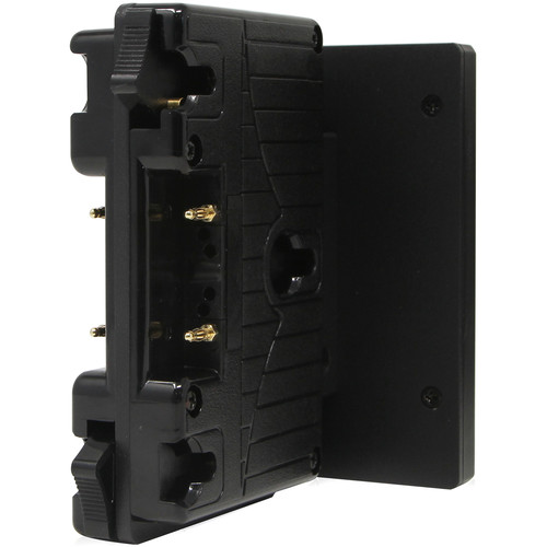 Core SWX Short Form Factor Hotswap Shark-Fin Mount Battery Mount (GoldMount, 2 x D-Taps)