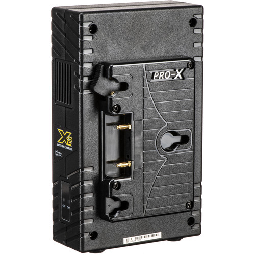 Core SWX X2A 2-Bay Vertical Gold Mount Battery Charger