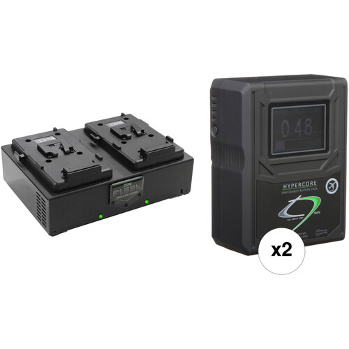 Core SWX HC9 Mini 2-Battery Kit with Fleet D Charger (V-Mount)