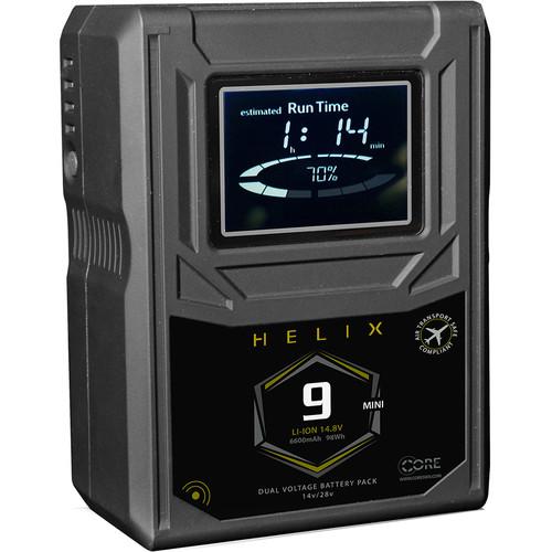 Core SWX Helix 9 Mini 98Wh Dual-Voltage Battery (Gold Mount)