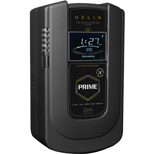 Core SWX Helix Prime 190Wh Dual-Voltage Battery (Gold Mount)