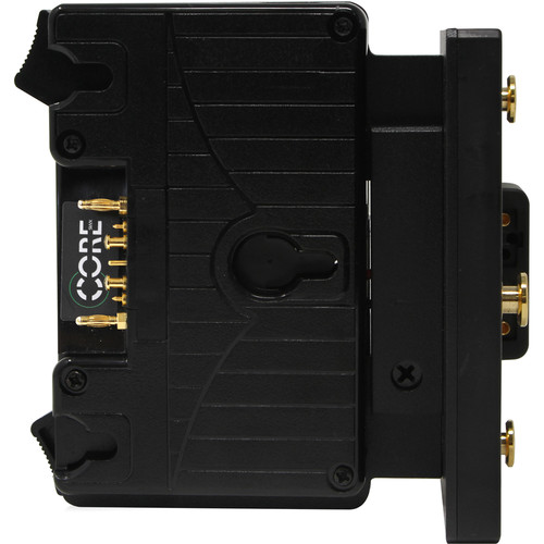 Core SWX Helix Gold Mount to Gold Mount Hot Swap/Shark Fin Battery Mount Plate
