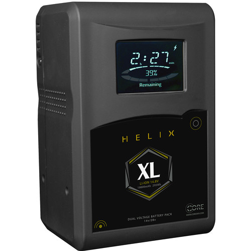 Core SWX Helix XL 293Wh Dual-Voltage Battery (Gold Mount)