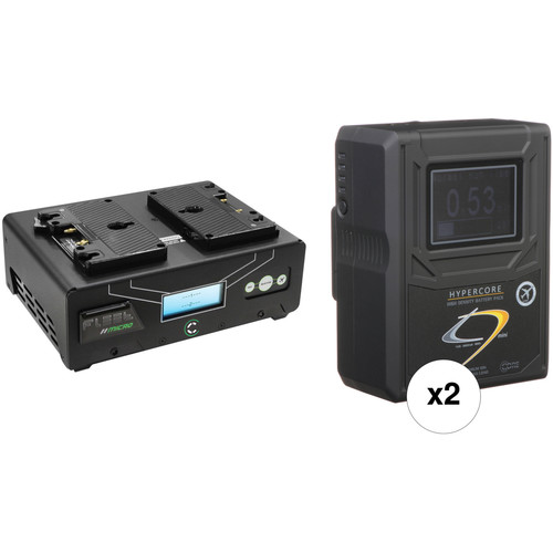 Core SWX HyperCore HC9 Mini 2-Battery Kit with Fleet Micro Charger (Gold Mount)