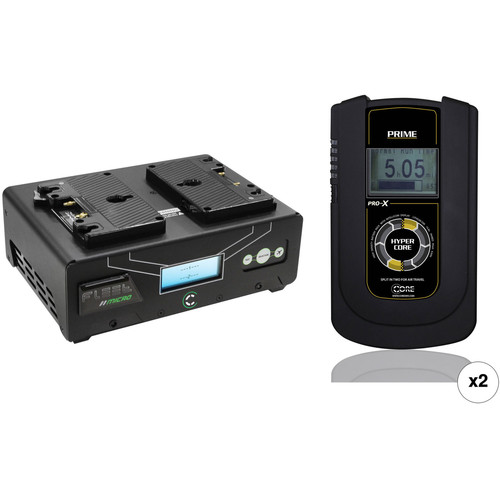 Core SWX HyperCore Prime 2-Battery Kit with Fleet Micro Charger (Gold Mount)