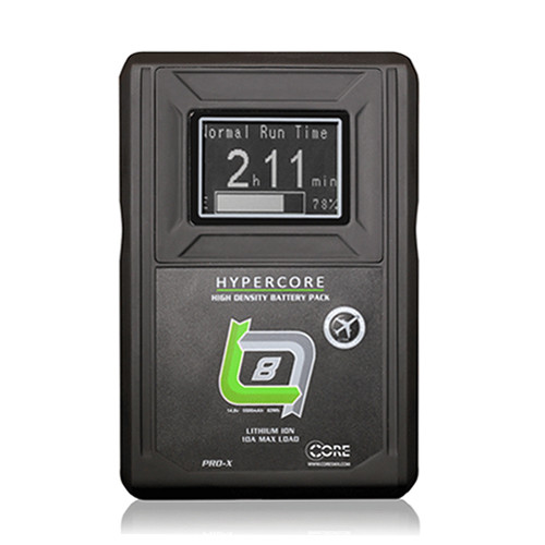 Core SWX HyperCore SLIM 4-Battery Kit with Fleet Q Charger (V-Mount)