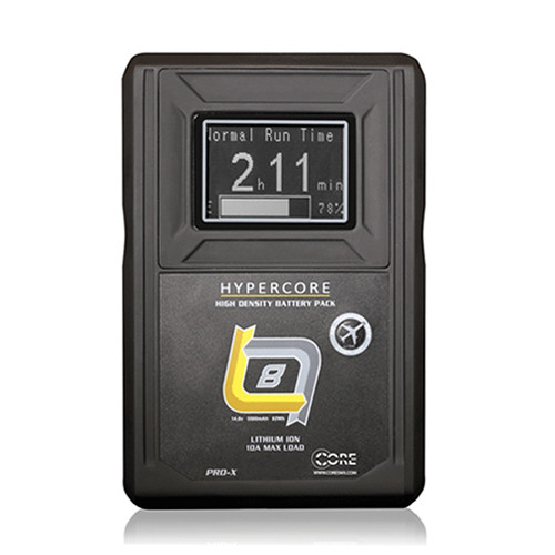 Core SWX HyperCore SLIM 4-Battery Kit with Fleet Q Charger (Gold Mount)