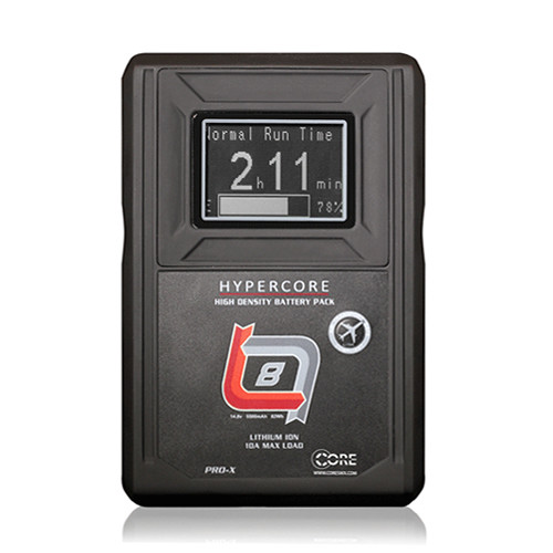 Core SWX HyperCore SLIM RED 4-Battery Kit with Fleet Q Charger (V-Mount)