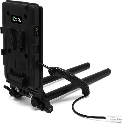 Core SWX Battery Plate with Cheese Plate & 15mm LWS Rod Clamp for BMPCC 6K/4K (V-Mount)