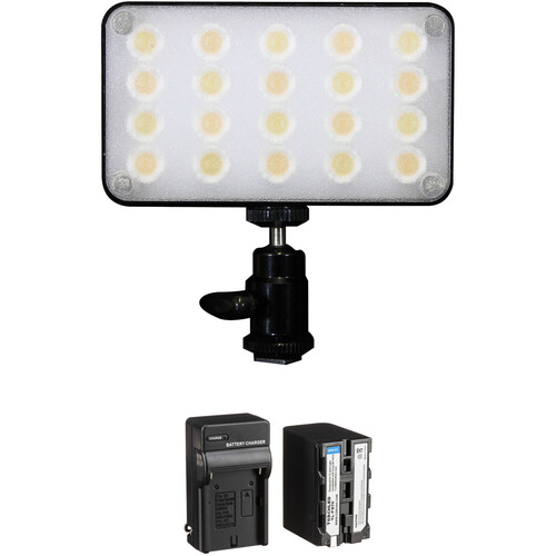 Core SWX TorchLED Bolt 250W On-Camera Light with Additional Battery Kit