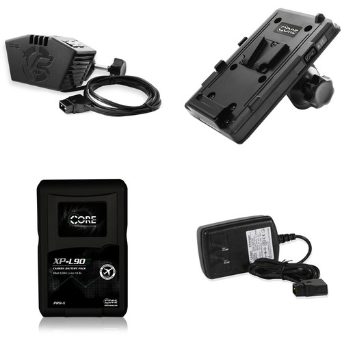 Core SWX VR Hub Power Kit with XP-L90S V-Mount Battery