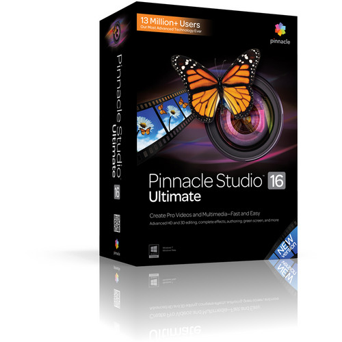 Corel Pinnacle Studio 16 Ultimate (Education Pricing)