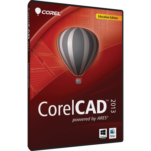 Corel CorelCAD 2013 Education Edition DVD (Windows & Mac)