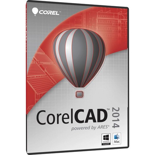 Corel CorelCAD 2014 Software DVD (Windows & Mac)
