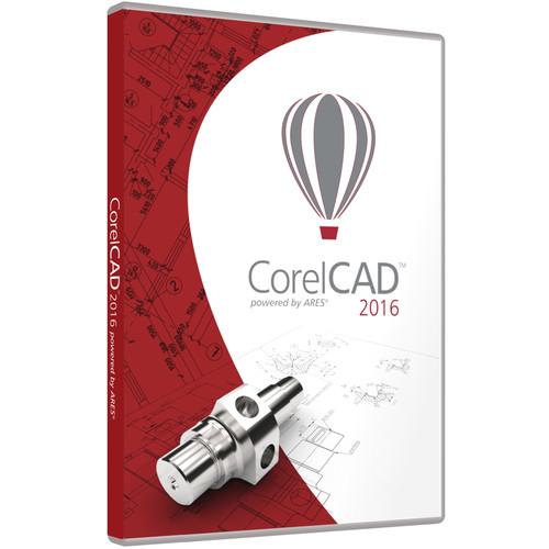 Corel CorelCAD 2016 - Academic (Mac and Windows, DVD)