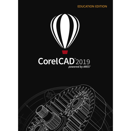 CorelCad 2019 (Education Edition, DVD)