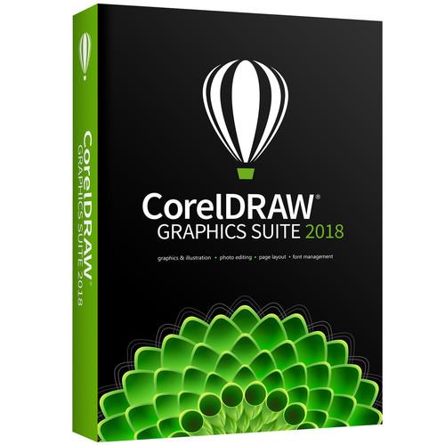 Corel CorelDRAW Graphics Suite 2018 (Boxed)