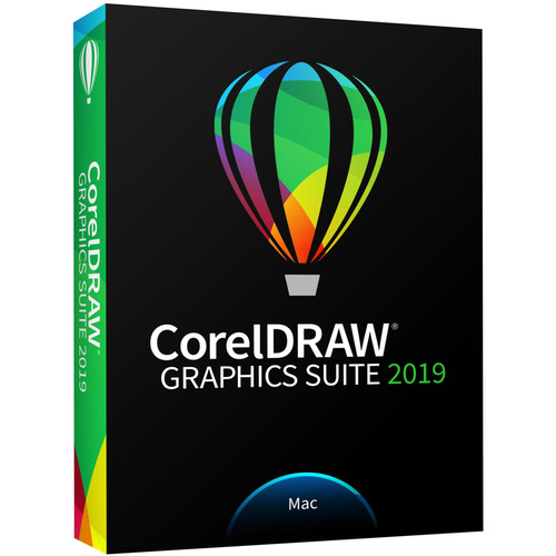 CorelDRAW Graphics Suite 2019 for Mac (Boxed, Standard Edition)