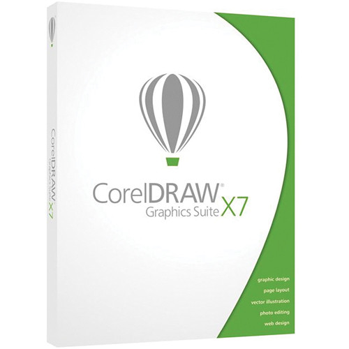 Corel CorelDraw Graphics Suite X7 for Windows (Boxed Version)