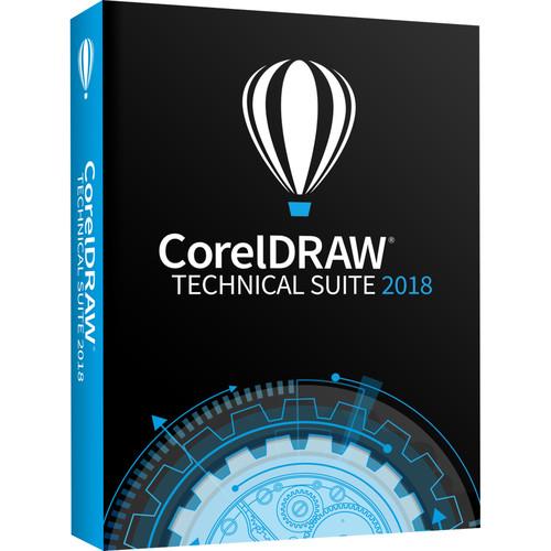 Corel CorelDRAW Technical Suite 2018 Education (Multi-Lingual)