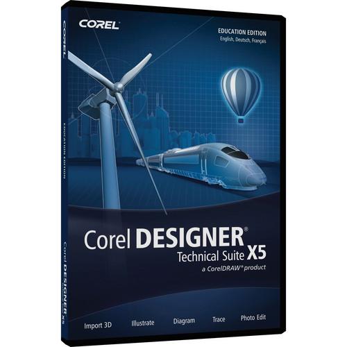 Corel DESIGNER Technical Suite X5 (Boxed Version, Education Edition)