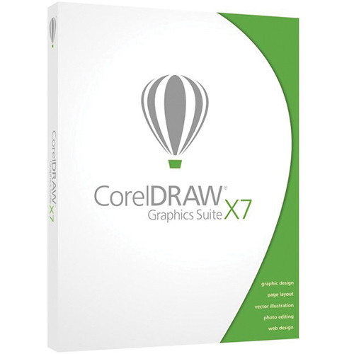 Corel CorelDraw Graphics Suite X7 for Windows (Download)
