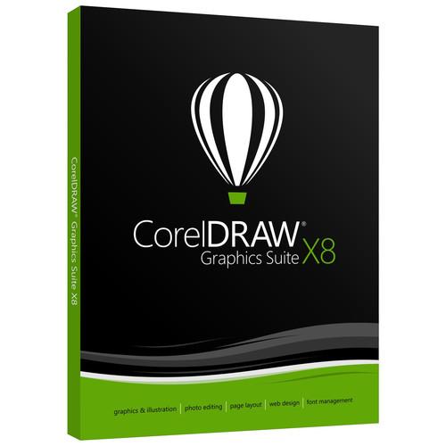 Corel CorelDRAW Graphics Suite X8 - Upgrade (Download)